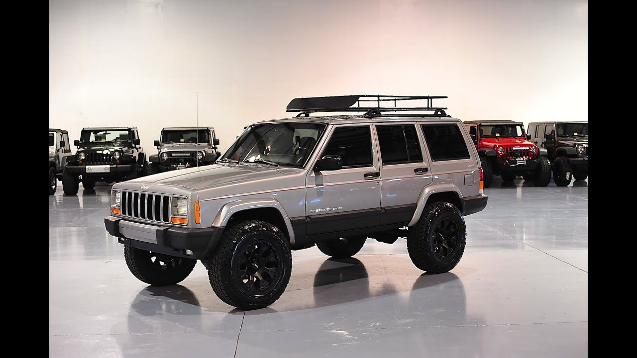 Lifted Jeep Cherokee >> Davis AutoSports JEEP CHEROKEE XJ SPORT LIFTED / STAGE 2 FOR SALE - YouTube