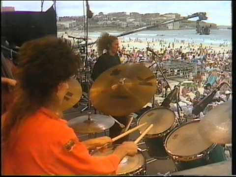 Sandy Evans trio Bondi Beach Jazz summit 1986