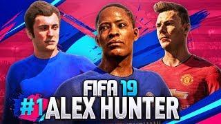 FIFA 19 | ALEX HUNTER #1 - WSCHODZĄCE GWIAZDY 🌟
