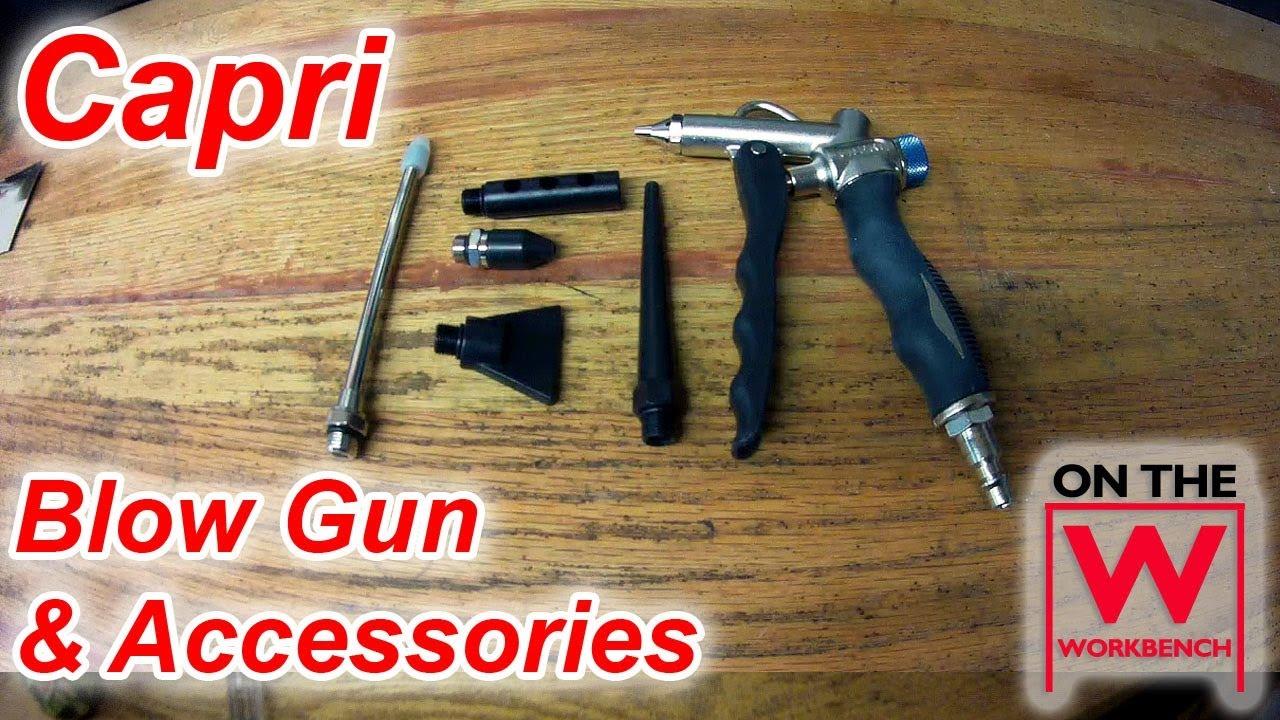 Husky Blow Gun with Ultimate Flow Tip Air Tool High Performance Pistol Grip