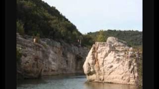 2010 - Camping Les Cascades in La Roque sur Ceze Frankrijk