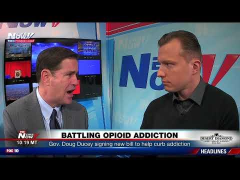 OPIOID CRISIS: Arizona Governor Doug Ducey Explains New Law To Curb Addiction (FNN)