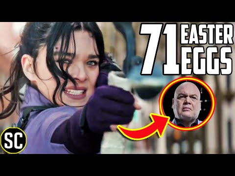 HAWKEYE Trailer Breakdown: Every EASTER EGG + Kingpin Cameo EXPLAINED | Marvel Cinematic Universe
