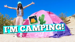 6 GIRLS GO CAMPING! | Joshua Tree