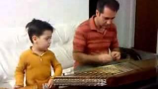 خوانندگي بسيار زيباي پسر بچه ایرانی