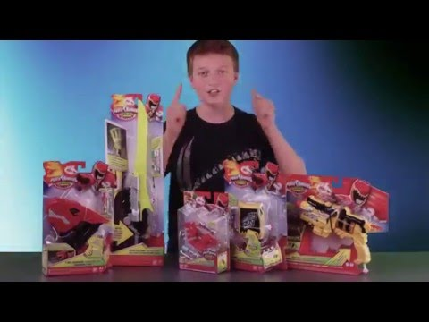 Getting Into It   Episode 2 Power Rangers Dino Charge Role P VF