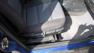 Установка сидений BMW E36