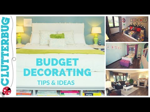 Home Decorating Tips & Ideas on a Budget