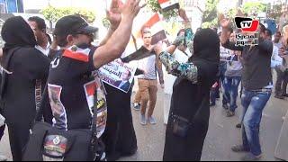 رقص بلدي أمام «الصحفيين» في احتفالات تحرير سيناء
