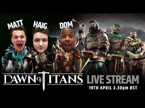 DAWN OF TITANS LIVE STREAM | RAGNAR HUNT!
