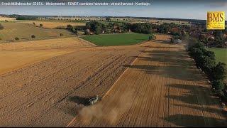 Fendt Mähdrescher 5255 L - Weizenernte - FENDT combine harvester - wheat harvest - Kombajn