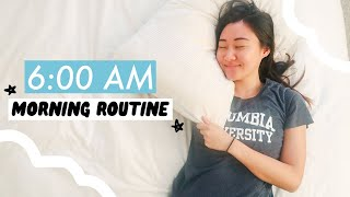 my 6am morning routine (so productive!)