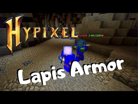 Hypixel: Skyblock- How To Get LAPIS ARMOR!!