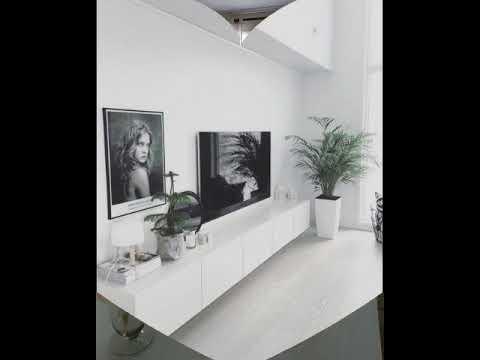 Топ 10 l Как оформить стену с телевизором