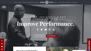 Website Before & After - Kendall Ficklin