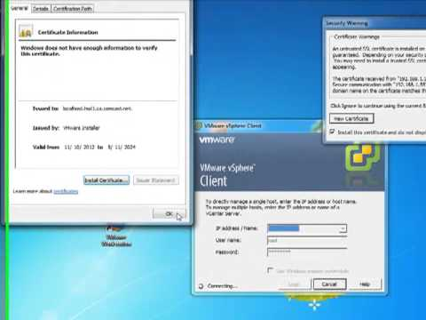 vSphere 5.1 Complete install and client - How to Install and Configure VMware ESXi 5.1