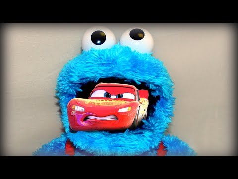 Lightning McQueen Rescue Baby Dolls, Tayo Bus From Cookie Monster | Toys For Kids