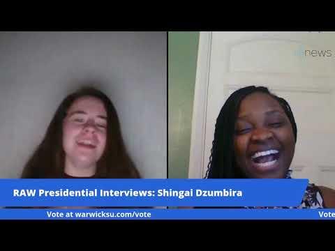 The Presidential Interviews: Shingai Dzumbira (Big Decision 2021)