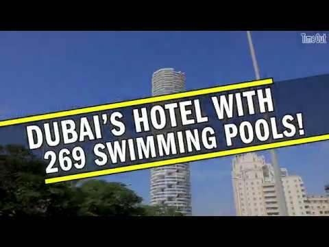 Dubai's hotel with 269 SWIMMING pools (2019)