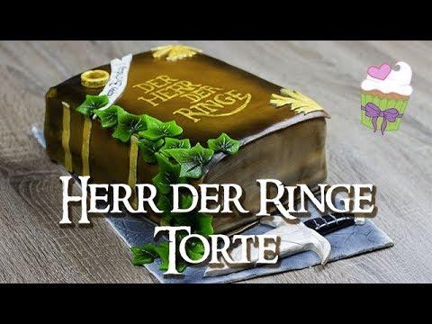 herr der ringe torte how to make a lord of the rings cake youtube. Black Bedroom Furniture Sets. Home Design Ideas