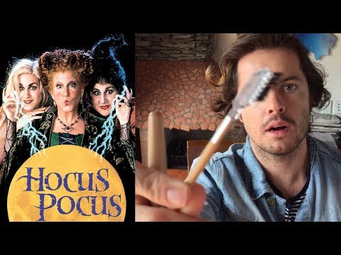 ASMR - Halloween Makeup Role-play  *Hocus Pocus*  *NZ Accent*