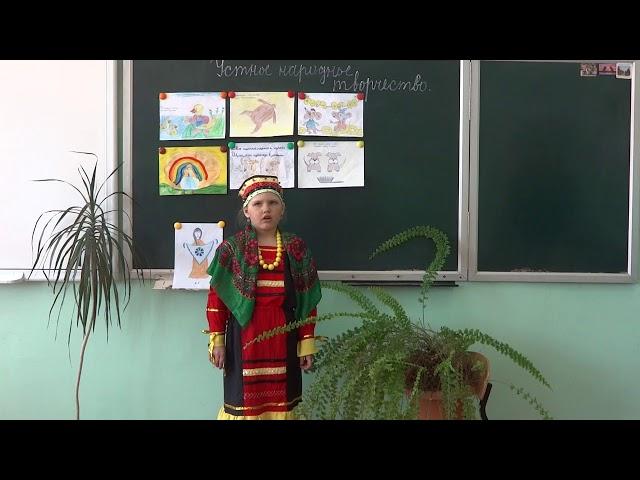 Изображение предпросмотра прочтения – ПолинаПолищук читает произведение «Скороговорки» (Русский фольклор )