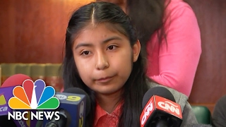 Daughter Asks Judge: 'Be Fair' In Father's Deportation Trial | NBC News