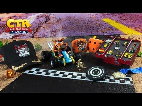 Crash Bandicoot Crash Team Racing Nitro-Fueled Incense Burner PVC Statue Figure