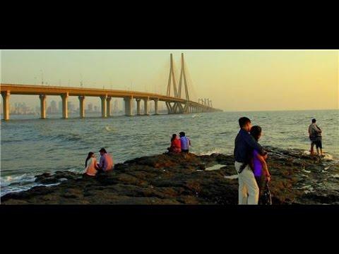 Bandra Bandstand Shahrukh Khan's Mannat Bungalow | Bandstand Mumbai | Bandra-Worli Sealink |