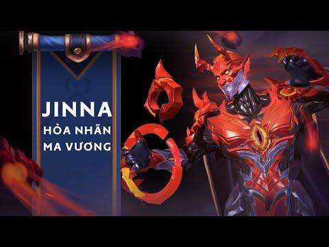 JINNA HỎA NHÃN MA VƯƠNG | Trang phục mới - Garena Liên Quân Mobile