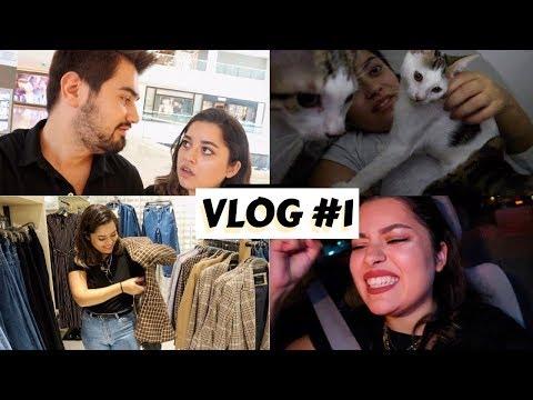 MAĞAZA GEZİYORUM, KEDİLERİMLE TANIŞIN I vlog #1