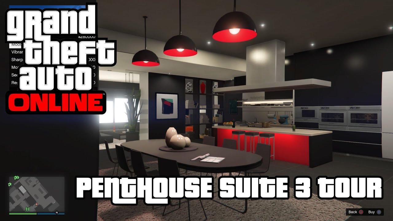 Grand Theft Auto  House Tour
