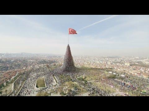 Türkler vatan nasıl savunulur öğretti o reklam gerçek oldu
