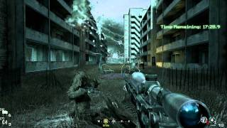 Repeat youtube video Call of Duty 4: Modern Warfare - ACT II - All Ghillied Up - Mission Playthrough