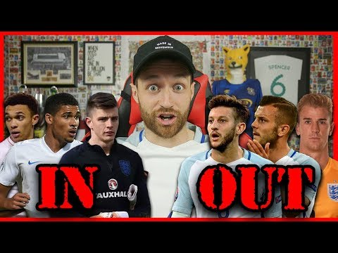 REACTING TO THE ENGLAND WORLD CUP SQUAD - IMO #42