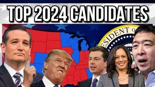 Top Candidates & Betting Odds For The 2024 Election | 2024 Election Analysis