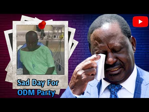Breaking News ! SAD Day For ODM Party After This Heartbreaking News Emerges | News54!