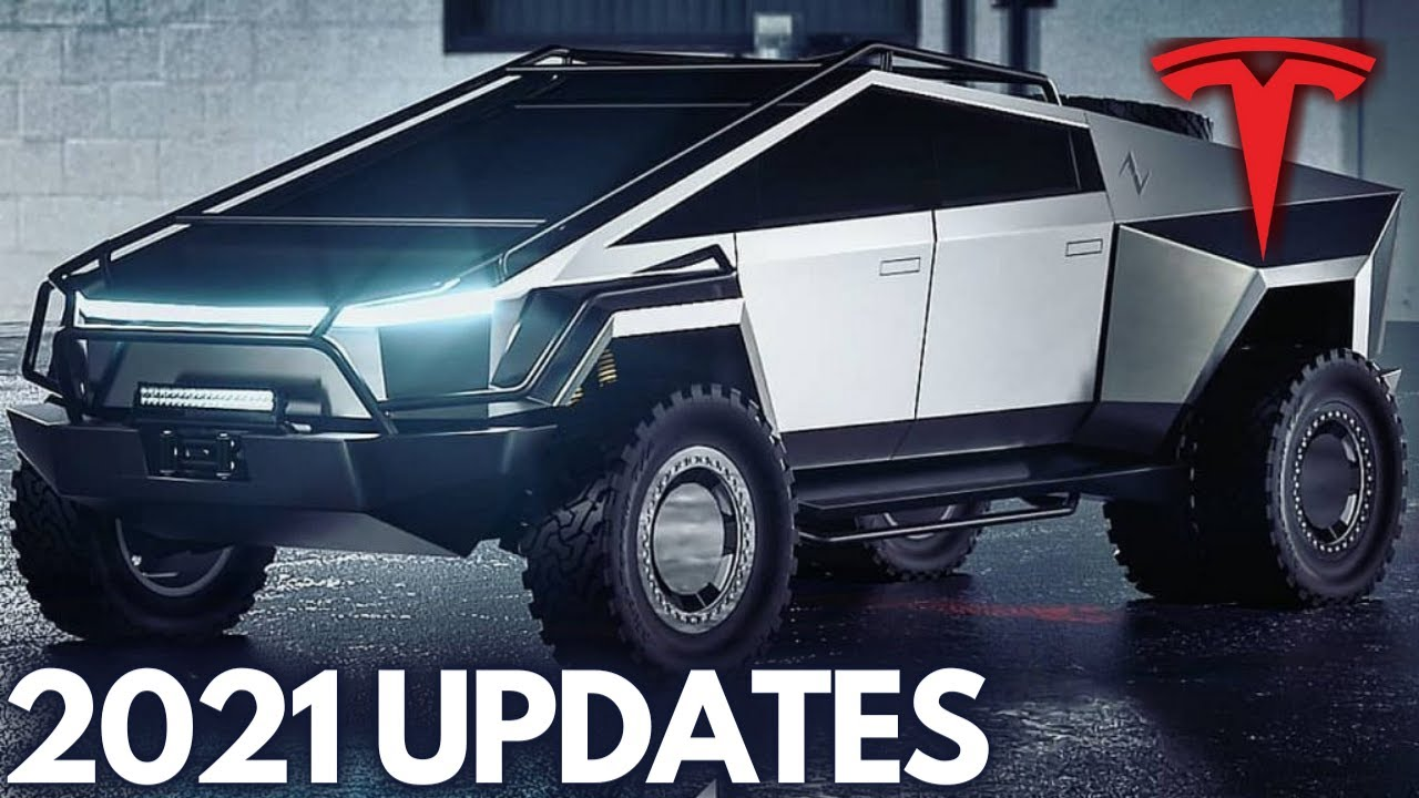Tesla Cybertruck Exclusive Footage (Updates 2021 & Pricing)