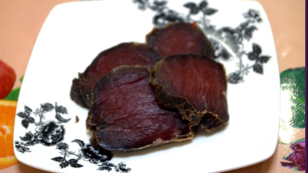 Рецепт вяленого мяса в домашних условиях ютуб 908