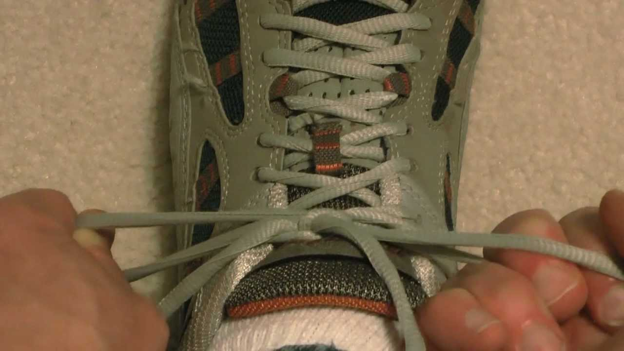 How to Tie Your Shoes So They Don't Come Untied!