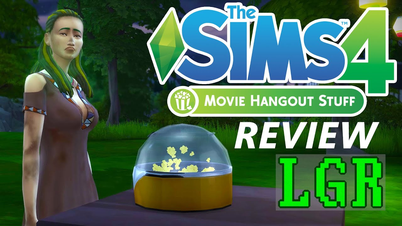 Lgr the sims 4 movie hangout stuff review youtube