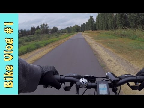 Sammamish River Trail 8-31-16 - Bike Vlog #1