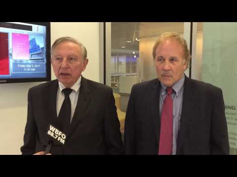 Dr. Robert Gallo & Dr. Gene Morse on UB's GVN Center of Excellence and HIV