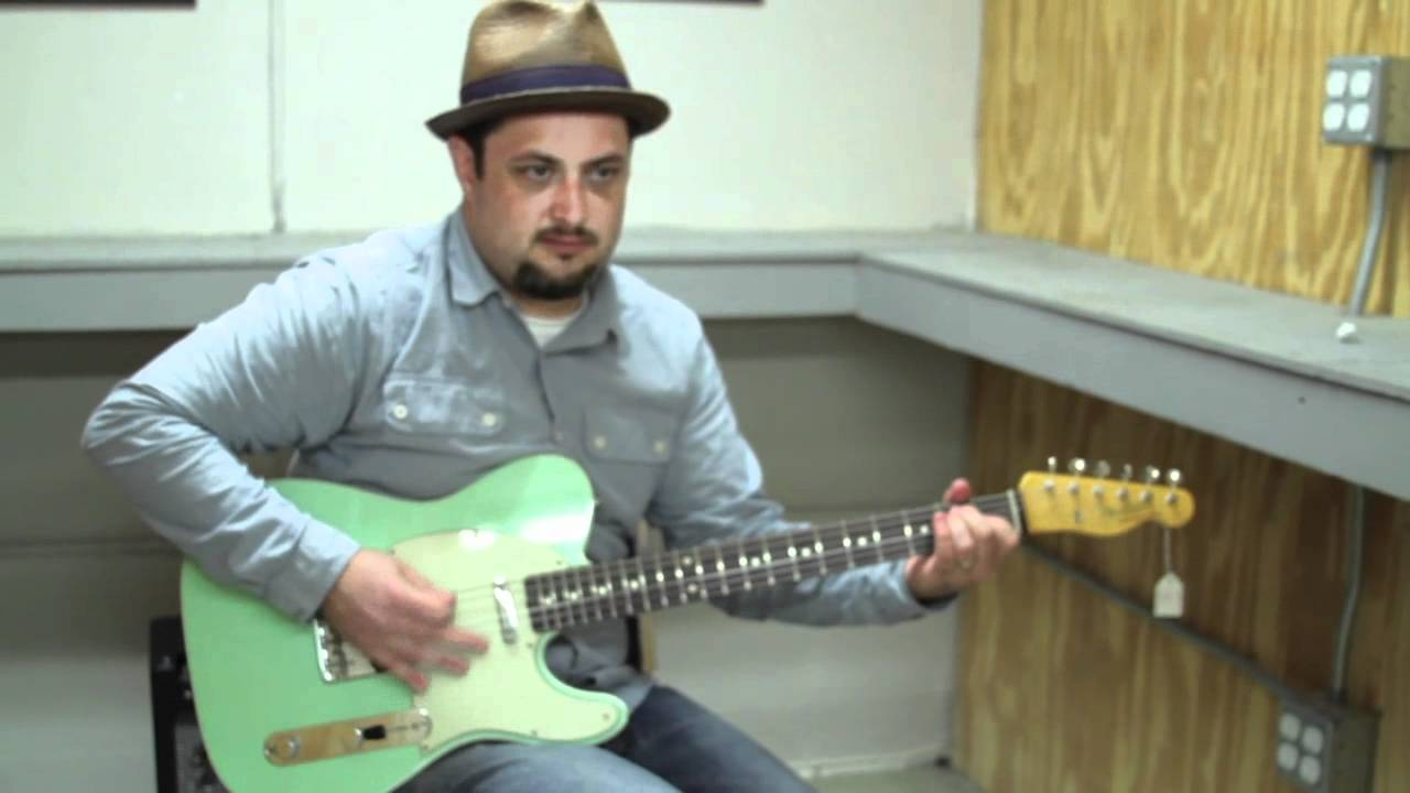Fender Telecaster 62 reissue Electric Guitar Review Demo Buffalo Brothers