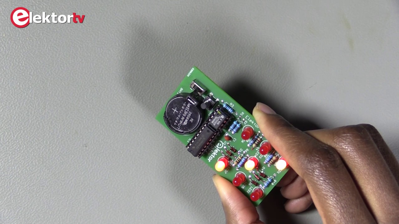 Super Simple Electronic Dice Youtube Details About Vthh6 Velleman Sa Circuit Board Holder