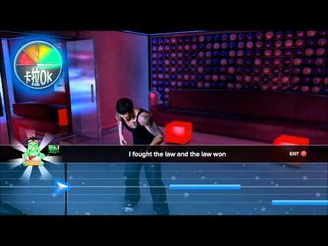 "Sleeping Dogs [PC] Karaoke ""I Fought The Law"" 100% [HD]"