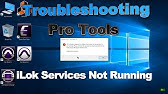 Fixed - iLok Authorization Error [PACE Service] - YouTube
