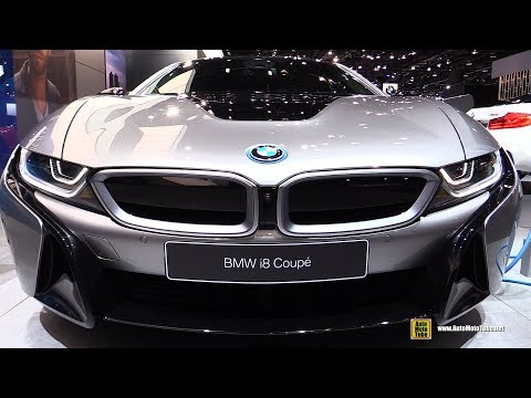 2019 BMW i8 Coupe - Exterior and Interior Walkaround - 2018 Detroit Auto Show