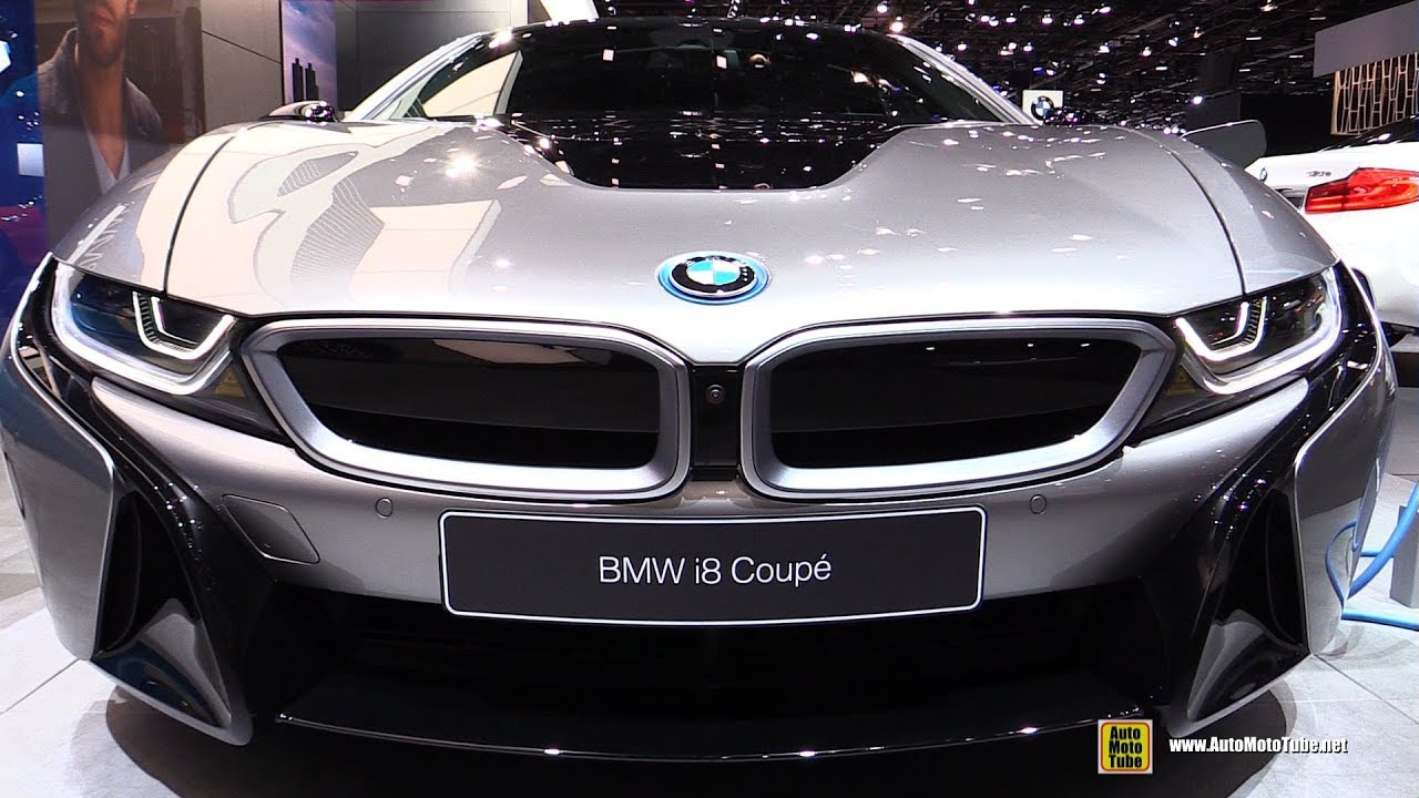 2019 Bmw I8 Coupe Exterior And Interior Walkaround 2018 Detroit