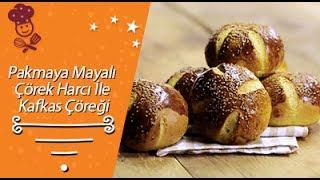 Pakmaya Mayalı Çörek Harcı İle Kafkas Çöreği Tarifi